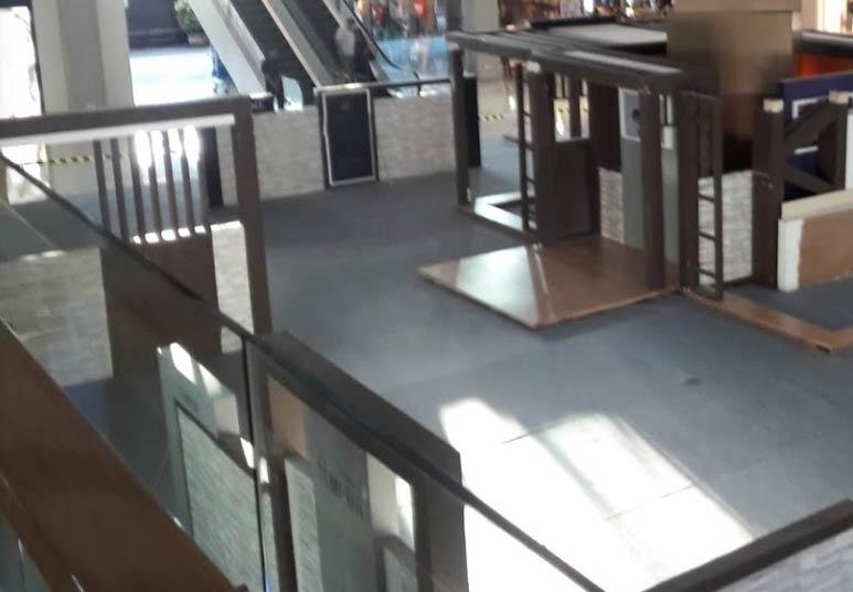 kaca tempered untuk mall