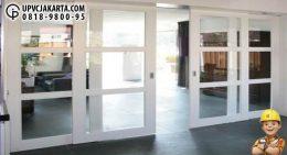 Pintu Sliding UPVC Untuk Perkantoran