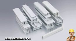 profil batangan upvc
