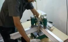 proses pembuatan jendela upvc